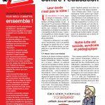 4 pages intersyndicale extrêmes droites contre éducation à télécharger
